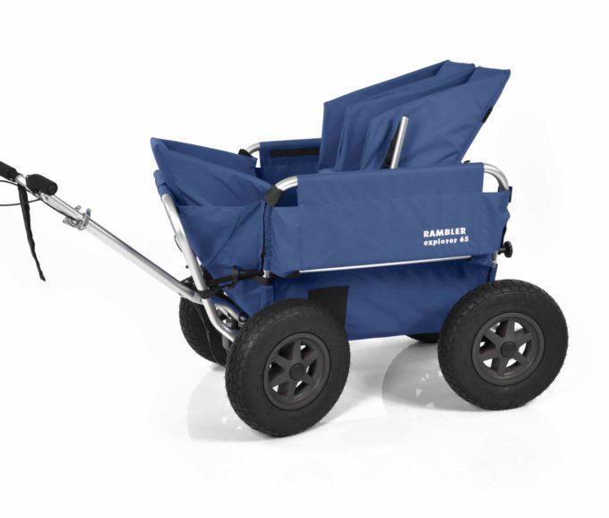 Rambler Explorer 65 + Kindersitz + Duo-Babysitz + Trittbrett 6
