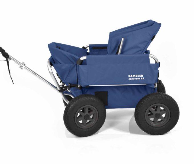 Rambler Explorer 65 + Kindersitz + Duo-Babysitz + Trittbrett 7