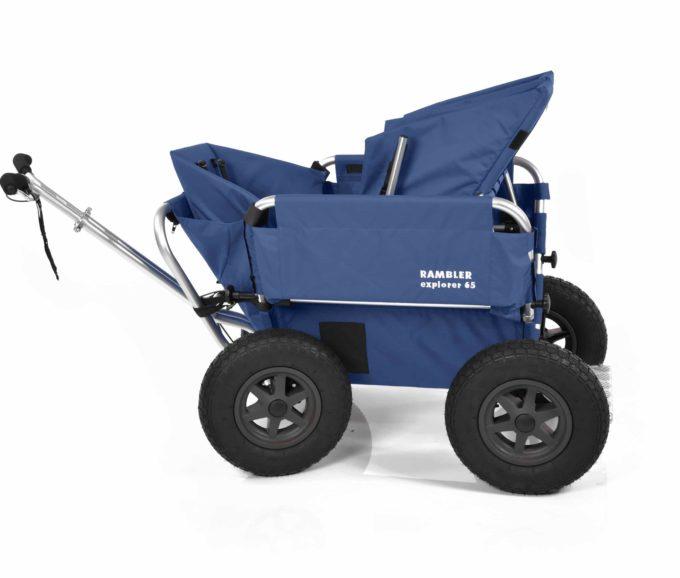 Rambler Explorer 65 (für 4 Kinder) + 1 Kindersitz + 1 Duo-Babysitz + Trittbrett 8