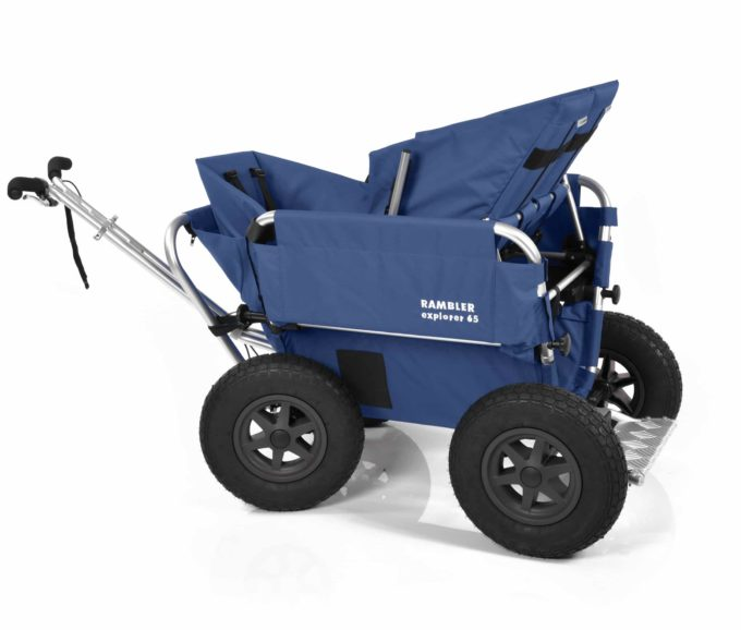 Rambler Explorer 65 + Kindersitz + Duo-Babysitz + Trittbrett 9