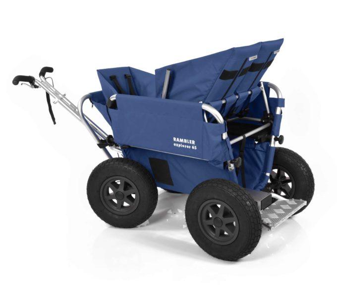 Rambler Explorer 65 + Kindersitz + Duo-Babysitz + Trittbrett 10
