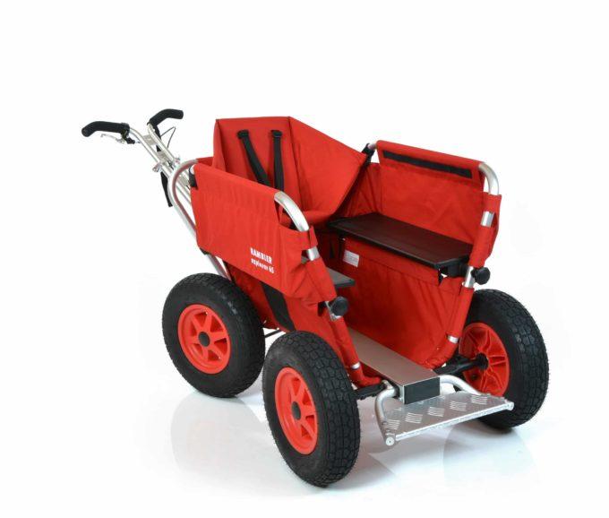 Rambler Explorer 65 (für 5 Kinder) + 1 Kindersitz + Trittbrett 10