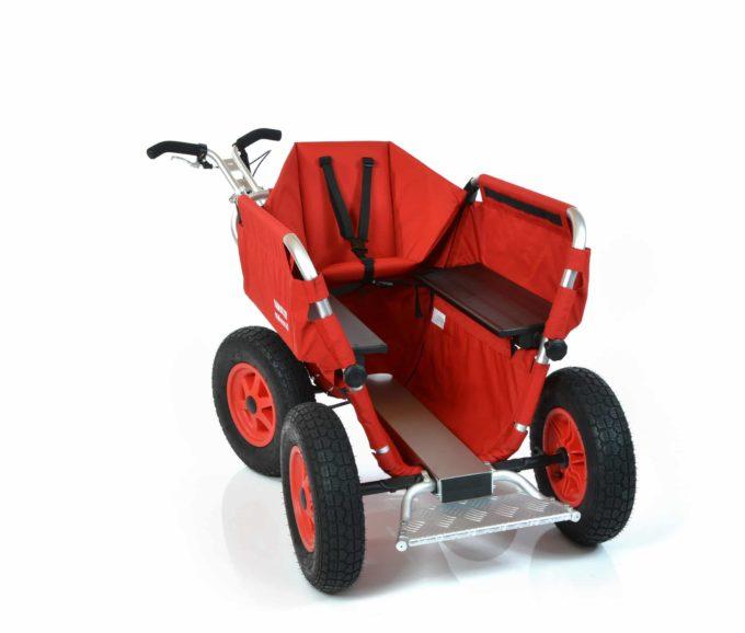 Rambler Explorer 65 (für 5 Kinder) + 1 Kindersitz + Trittbrett 11