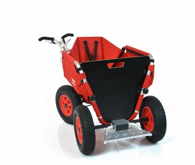 Rambler Explorer 65 (für 5 Kinder) + 1 Kindersitz + Trittbrett 12