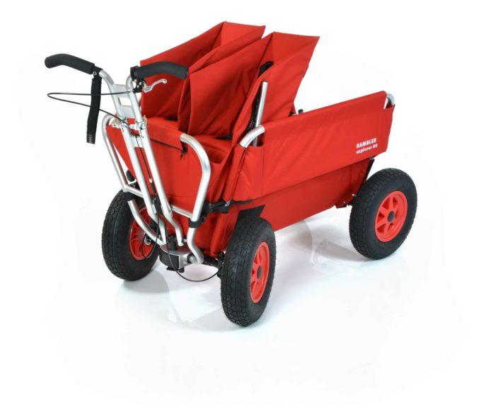 Rambler Explorer 80 (für 5 Kinder) + 1 Duo-Babysitz + Trittbrett 1