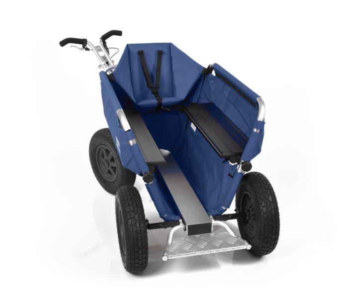 Rambler Explorer 80 (für 7 Kinder) + 1 Kindersitz + Trittbrett 25