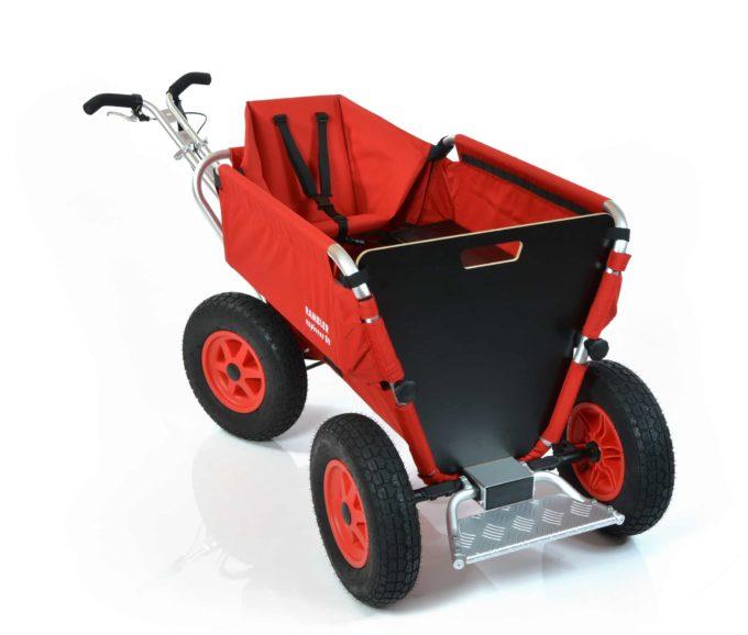 Rambler Explorer 80 (für 7 Kinder) + 1 Kindersitz + Trittbrett 13