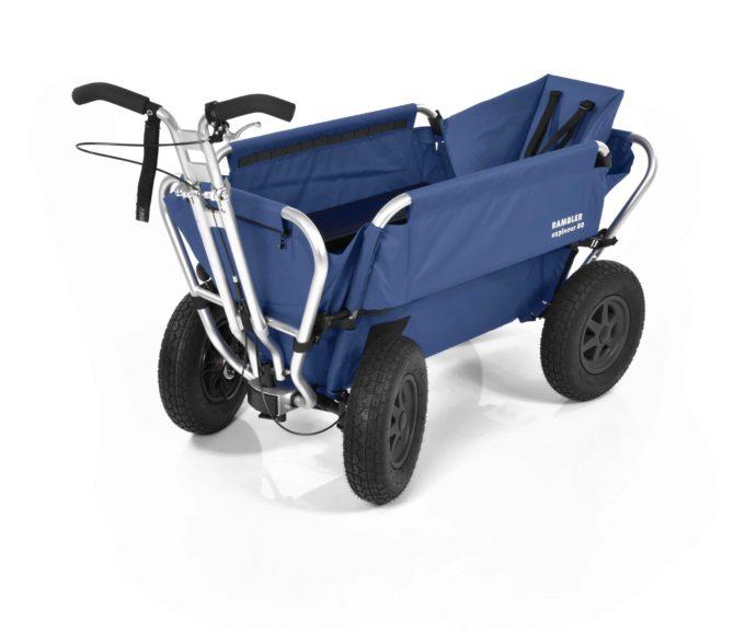 Rambler Explorer 80 + Hinterer Rahmen + Kindersitz 13