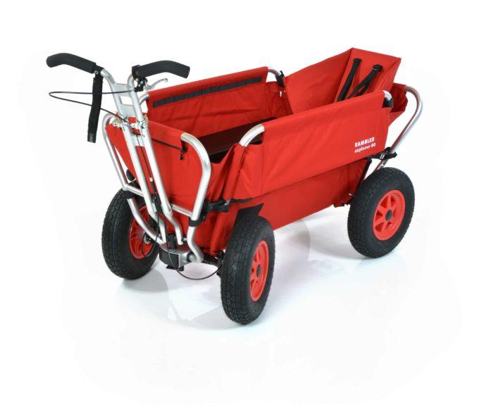 Rambler Explorer 80 (für 6 Kinder) + 1 Kindersitz + Hinterer Rahmen 1