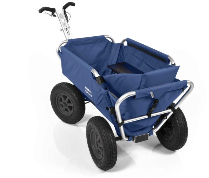 Rambler Explorer 80 (für 6 Kinder) + 1 Kindersitz + Hinterer Rahmen 22