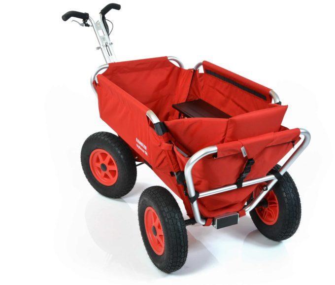 Rambler Explorer 80 (für 6 Kinder) + 1 Kindersitz + Hinterer Rahmen 11