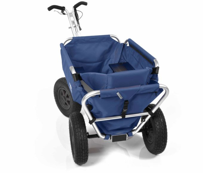 Rambler Explorer 80 + Hinterer Rahmen + Kindersitz 23