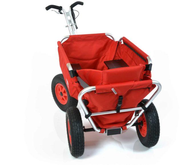 Rambler Explorer 80 + Hinterer Rahmen + Kindersitz 12