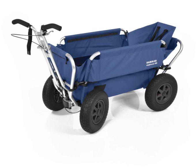 Rambler Explorer 80 (für 6 Kinder) + 1 Kindersitz + Hinterer Rahmen 14