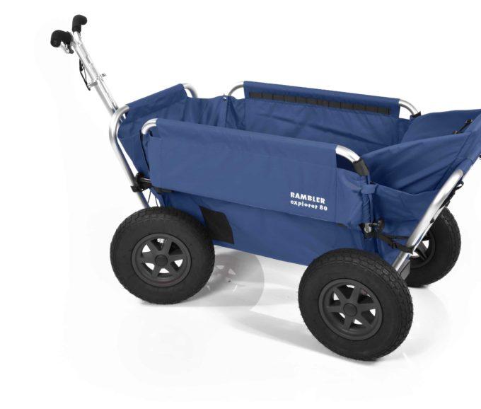 Rambler Explorer 80 + Hinterer Rahmen + Kindersitz 19