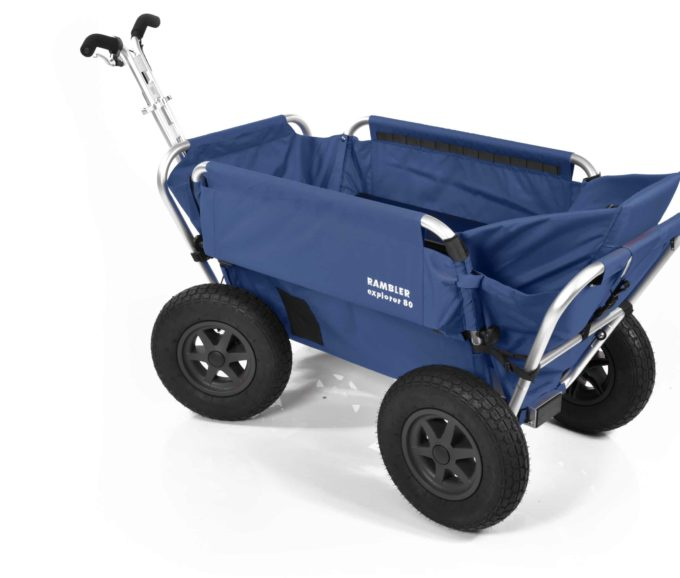 Rambler Explorer 80 + Hinterer Rahmen + Kindersitz 20