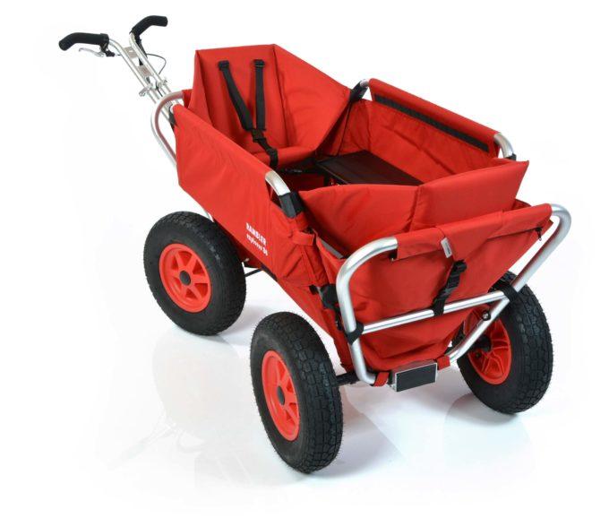 Rambler Explorer 80 (für 7 Kinder) + 2 Kindersitze + Hinterer Rahmen 10
