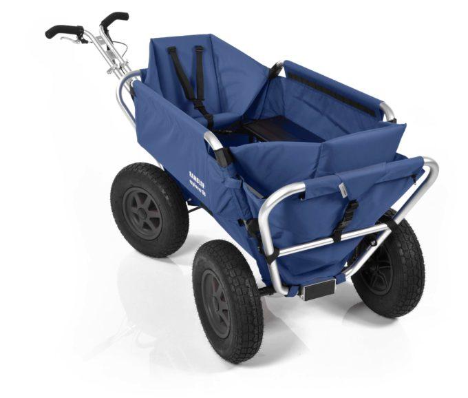 Rambler Explorer 80 (für 7 Kinder) + 2 Kindersitze + Hinterer Rahmen 21