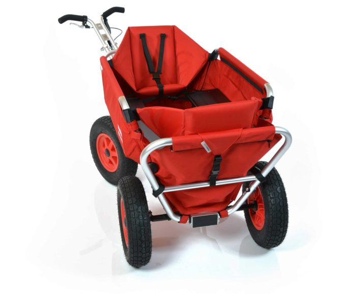 Rambler Explorer 80 (für 7 Kinder) + 2 Kindersitze + Hinterer Rahmen 11