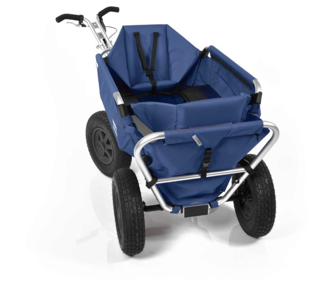 Rambler Explorer 80 (für 7 Kinder) + 2 Kindersitze + Hinterer Rahmen 22