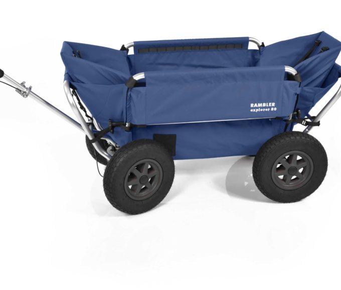 Rambler Explorer 80 (für 7 Kinder) + 2 Kindersitze + Hinterer Rahmen 15