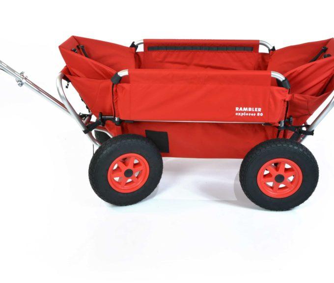 Rambler Explorer 80 (für 7 Kinder) + 2 Kindersitze + Hinterer Rahmen 5