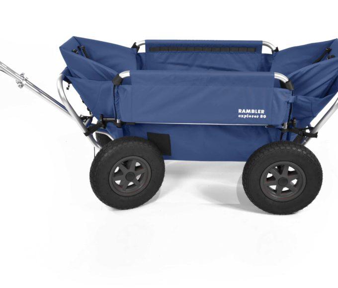 Rambler Explorer 80 (für 7 Kinder) + 2 Kindersitze + Hinterer Rahmen 16
