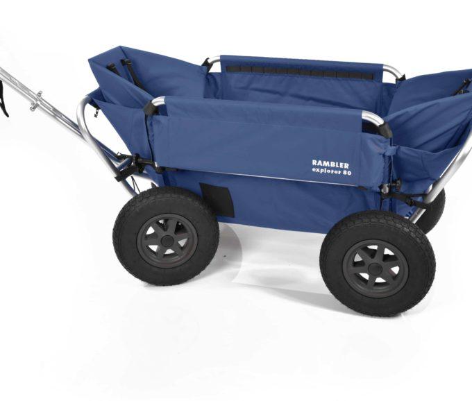 Rambler Explorer 80 (für 7 Kinder) + 2 Kindersitze + Hinterer Rahmen 18