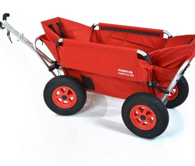 Rambler Explorer 80 (für 7 Kinder) + 2 Kindersitze + Hinterer Rahmen 7