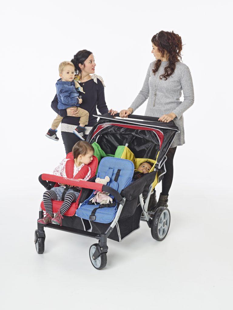 Vierlingswagen - Unsere besten Krippenwagen für 4 Kinder 2