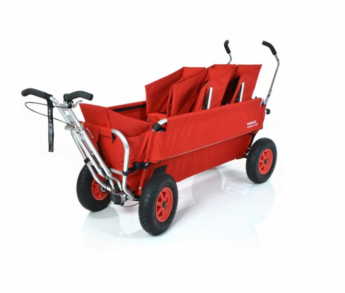 Rambler Explorer 120 (für 8 Kinder) - 2 Duo-Babysitze + 1 Kindersitz + Trittbrett 1