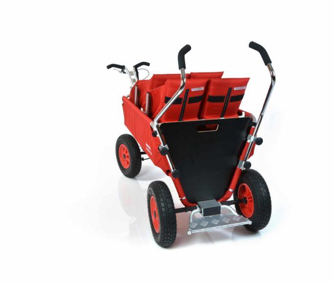 Rambler Explorer 120 (für 8 Kinder) - 2 Duo-Babysitze + 1 Kindersitz + Trittbrett 13