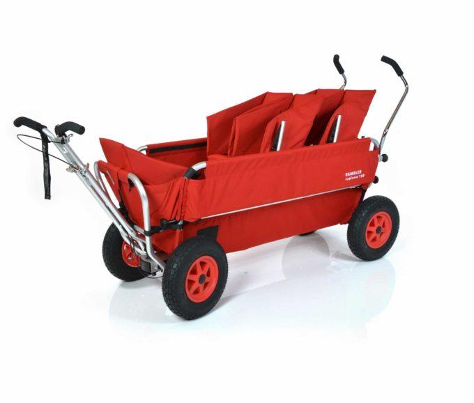 Rambler Explorer 120 (für 8 Kinder) - 2 Duo-Babysitze + 1 Kindersitz + Trittbrett 2