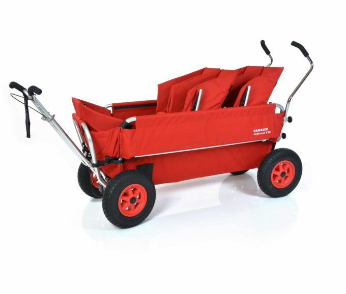 Rambler Explorer 120 (für 8 Kinder) - 2 Duo-Babysitze + 1 Kindersitz + Trittbrett 3