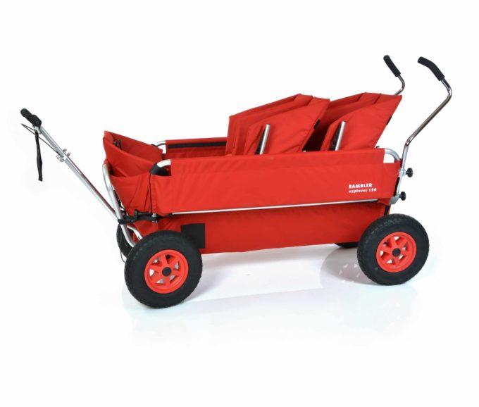Rambler Explorer 120 (für 8 Kinder) - 2 Duo-Babysitze + 1 Kindersitz + Trittbrett 4