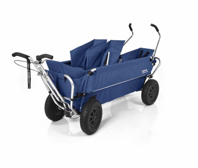 Rambler Explorer 120 (für 7 Kinder) - 1 Duo-Babysitz + 2 Kindersitze + hinterer Rahmen 12