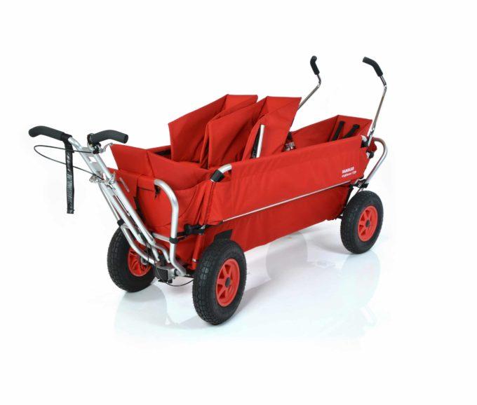 Rambler Explorer 120 (für 7 Kinder) - 1 Duo-Babysitz + 2 Kindersitze + hinterer Rahmen 1