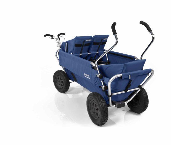 Rambler Explorer 120 (für 7 Kinder) - 1 Duo-Babysitz + 2 Kindersitze + hinterer Rahmen 21