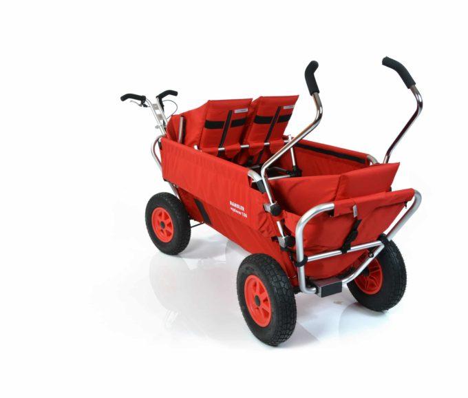 Rambler Explorer 120 (für 7 Kinder) - 1 Duo-Babysitz + 2 Kindersitze + hinterer Rahmen 10