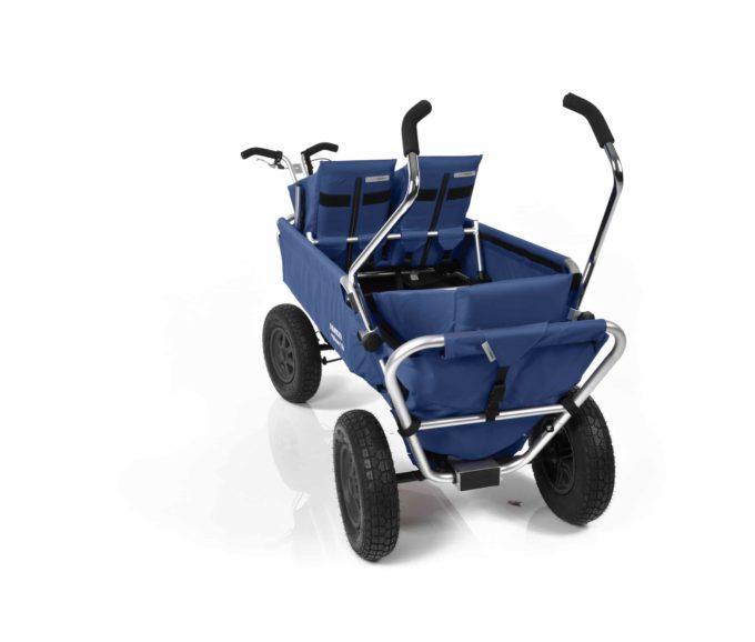 Rambler Explorer 120 (für 7 Kinder) - 1 Duo-Babysitz + 2 Kindersitze + hinterer Rahmen 22
