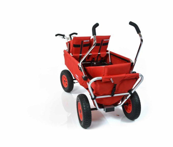 Rambler Explorer 120 (für 7 Kinder) - 1 Duo-Babysitz + 2 Kindersitze + hinterer Rahmen 11