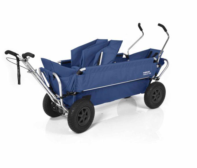 Rambler Explorer 120 (für 7 Kinder) - 1 Duo-Babysitz + 2 Kindersitze + hinterer Rahmen 13