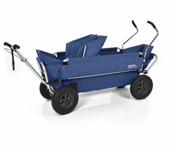 Rambler Explorer 120 (für 7 Kinder) - 1 Duo-Babysitz + 2 Kindersitze + hinterer Rahmen 14