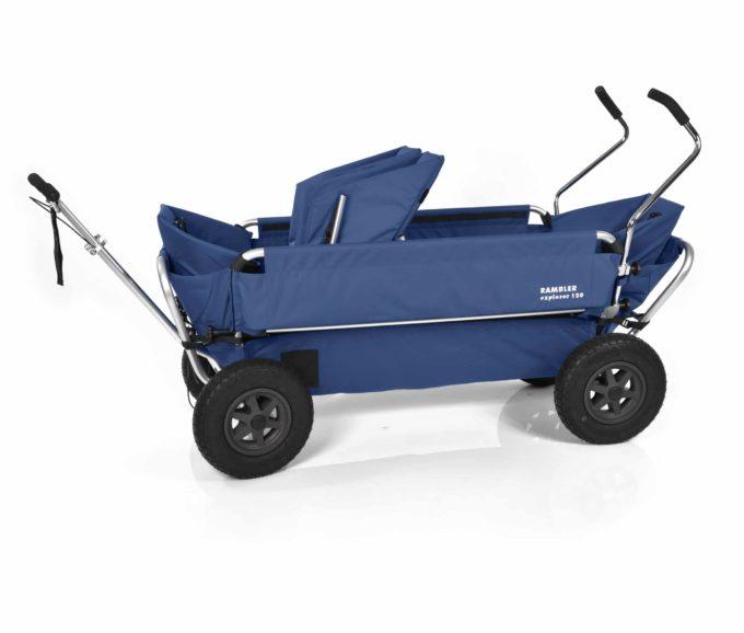 Rambler Explorer 120 (für 7 Kinder) - 1 Duo-Babysitz + 2 Kindersitze + hinterer Rahmen 15