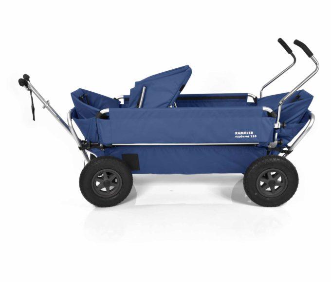 Rambler Explorer 120 (für 7 Kinder) - 1 Duo-Babysitz + 2 Kindersitze + hinterer Rahmen 16