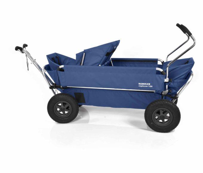 Rambler Explorer 120 (für 7 Kinder) - 1 Duo-Babysitz + 2 Kindersitze + hinterer Rahmen 17