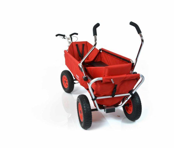 Rambler Explorer 120 (für 11 Kinder) - 2 Kindersitze + hinterer Rahmen 11