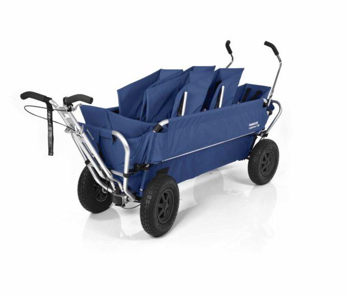 Rambler Explorer 120 (für 6 Kinder) - 2 Duo-Babysitze + 2 Kindersitze + hinterer Rahmen 12
