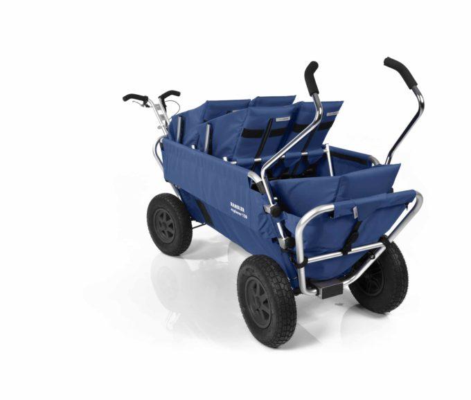 Rambler Explorer 120 (für 6 Kinder) - 2 Duo-Babysitze + 2 Kindersitze + hinterer Rahmen 21