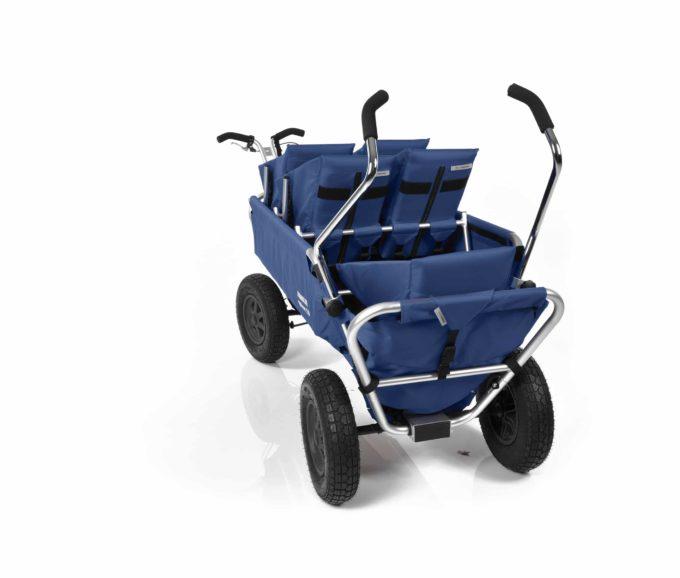 Rambler Explorer 120 (für 6 Kinder) - 2 Duo-Babysitze + 2 Kindersitze + hinterer Rahmen 22